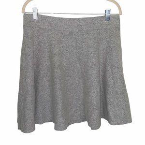 Club Monaco Women's Gray Wool Blend Skirt Size 12